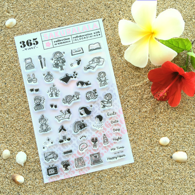 365 Clear Stamps - ME TIME