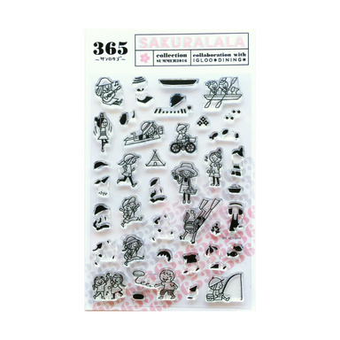 365 Clear Stamps - ACTIVITY