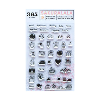 365 Clear Stamps - DAILY