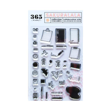 365 Clear Stamps - SCHOOL