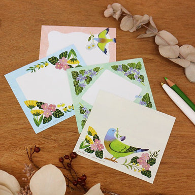 Square Memo Pad - Botanical Season