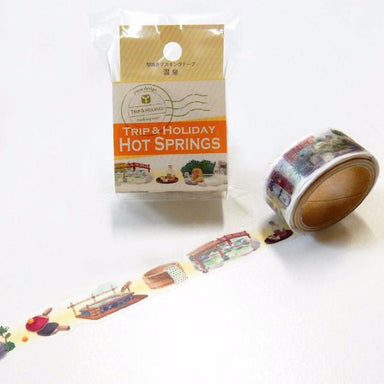 Die-cut Washi Tape - Hot Springs