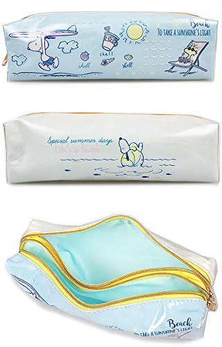 Snoopy Pen Case - Blue