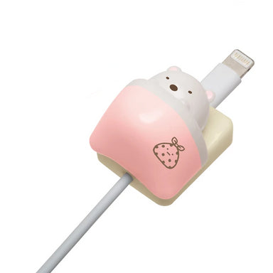 Sumikkogurashi Charging Cable Mascot - Polar Bear