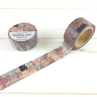 Sunny Sunday Washi Tape - Collage No. 1
