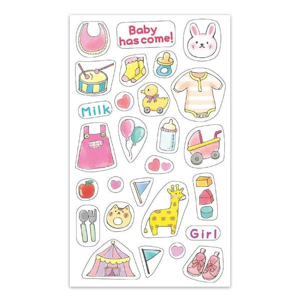 Planner Stickers - Baby Girl
