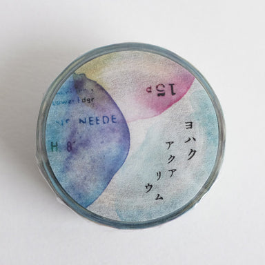 YOHAKU Collage Washi Tape - Aquarium