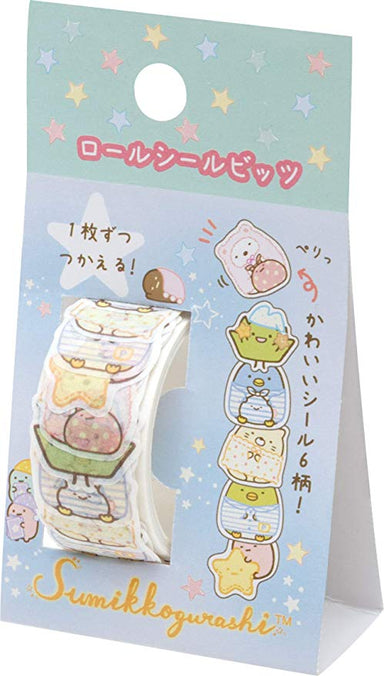 Sumikkogurashi Stickers - Pajama Party