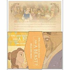 Letter Set - Beauty and the Beast