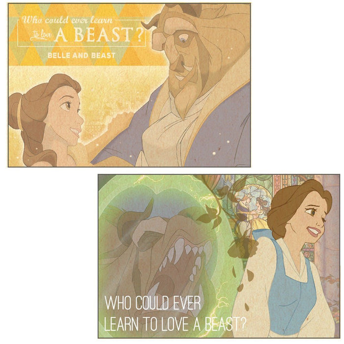 Beauty and the Beast Letter Set