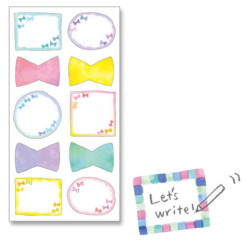 Ribbon Frame Stickers