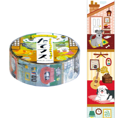 Vertical Washi Tape - Stay Home