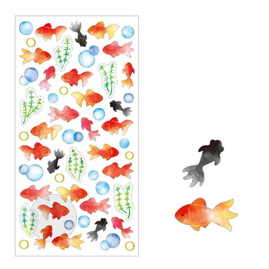 Summer Limited Goldfish Stickers