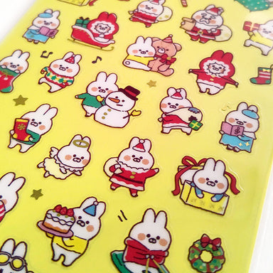 Limited Edition Stickers - Bunny's Christmas
