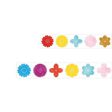 Roll Flower Stickers