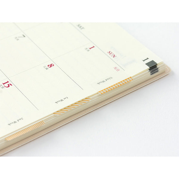 Planner Slim Index Stickers - Gold Patterns