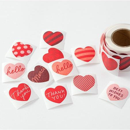 Heart Stickers Sampler Set