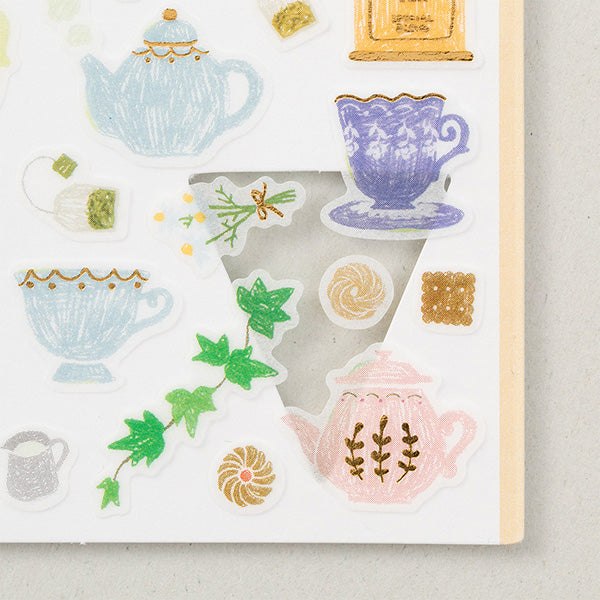Masking Stickers - Tea Time