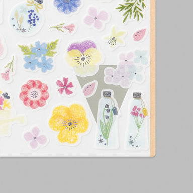 Masking Stickers - Flowers