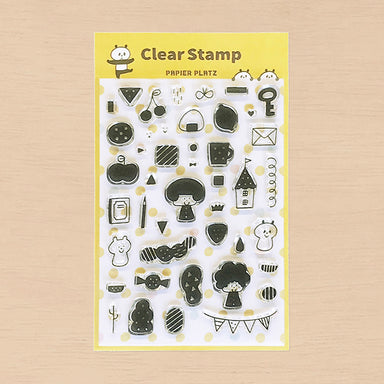 Limited Quantity Clear Stamps - Mix