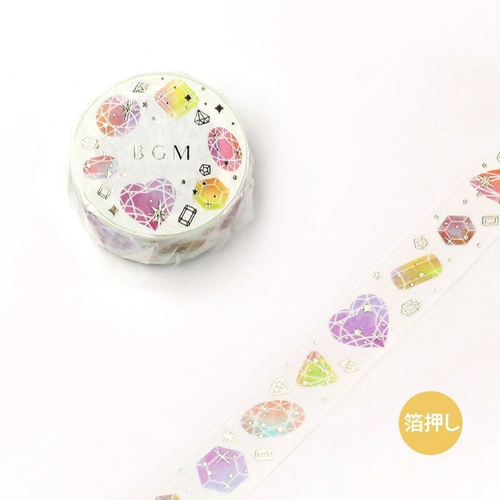 Washi Tape - Shiny Stones