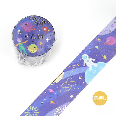 Washi Tape - Space Travel