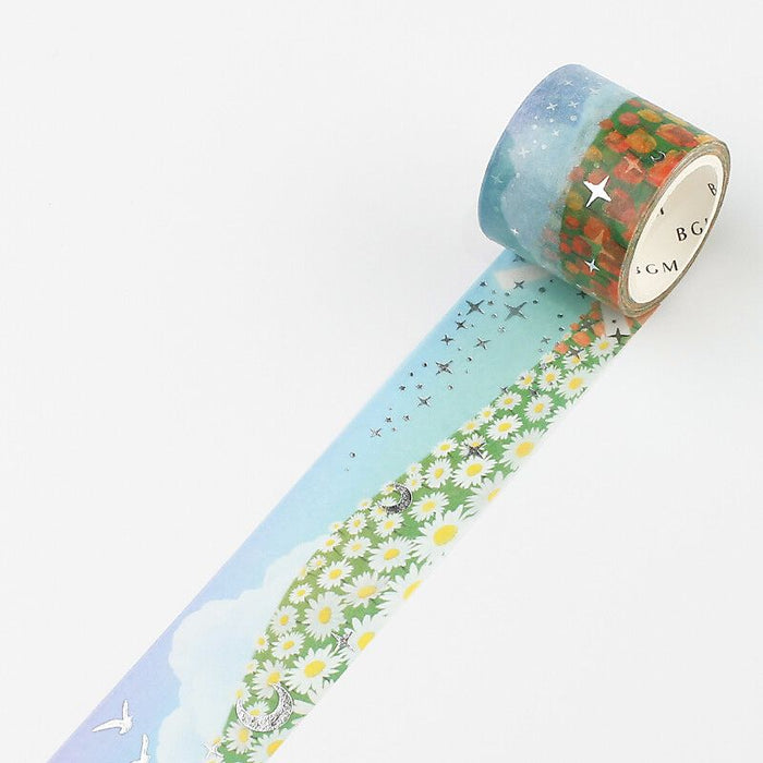 Washi Tape - Flower Garden
