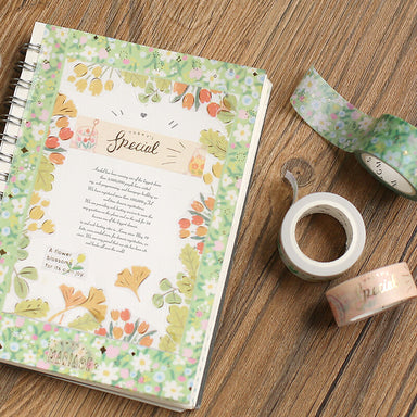 Washi Tape - Plants and Flowers