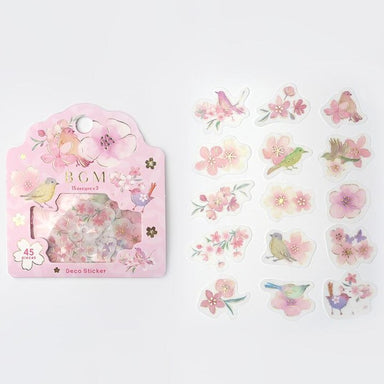 Flake Stickers - Flower Time