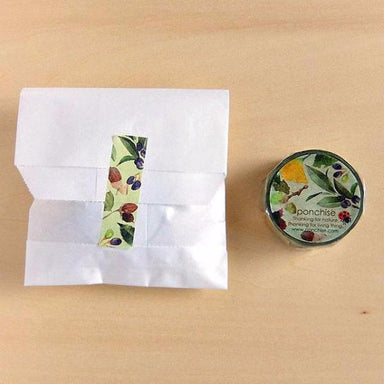 Yumi Imai Washi Tape - Nuts