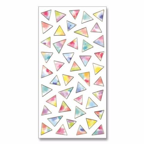 Shiny Triangles Stickes