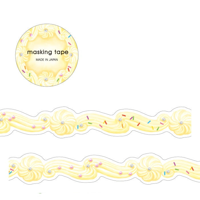 Die-cut Washi Tape - Cream
