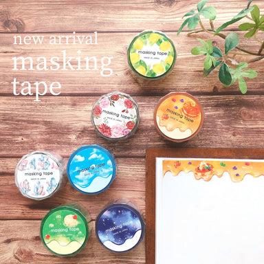 Die-cut Washi Tape - Minerals