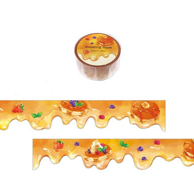 Die-cut Washi Tape - Maple Syrup