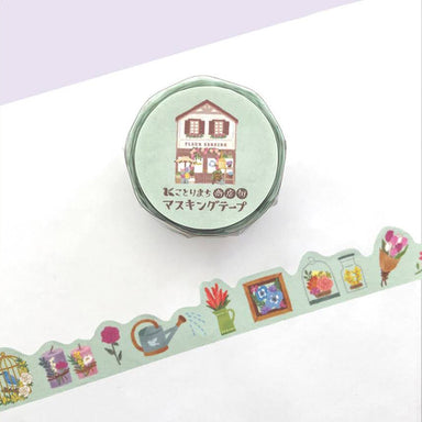 Limited Quantity Kotorimachi Washi Tape - Flower Shop