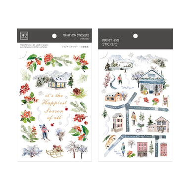 Limited Edition MU Print-on Stickers - The Happiest Season