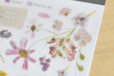 Limited Edition MU Print-on Stickers - Preserved Flowers
