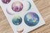 MU Print-on Stickers - Universe