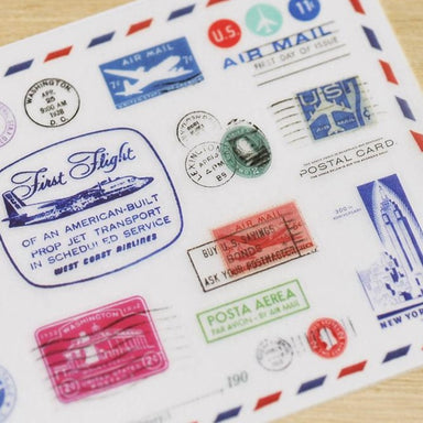 MU Print-on Stickers - Travel Stamps