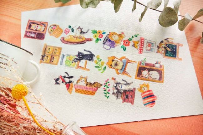 Washi Tape - Kitty Grocery House