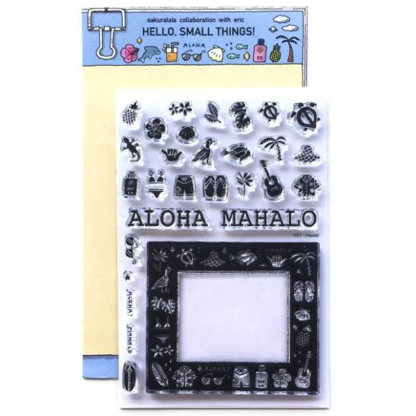 Sakuralala Clear Stamps - HAWAII CANVAS