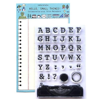 eric small things Clear Stamps - TYPESET