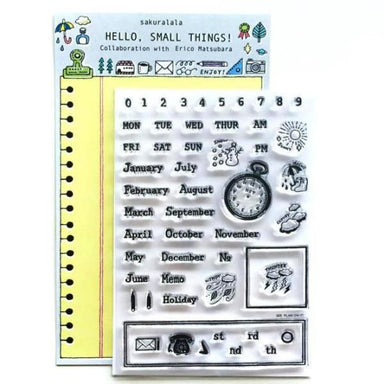 eric small things Clear Stamps - PLAN ON IT!