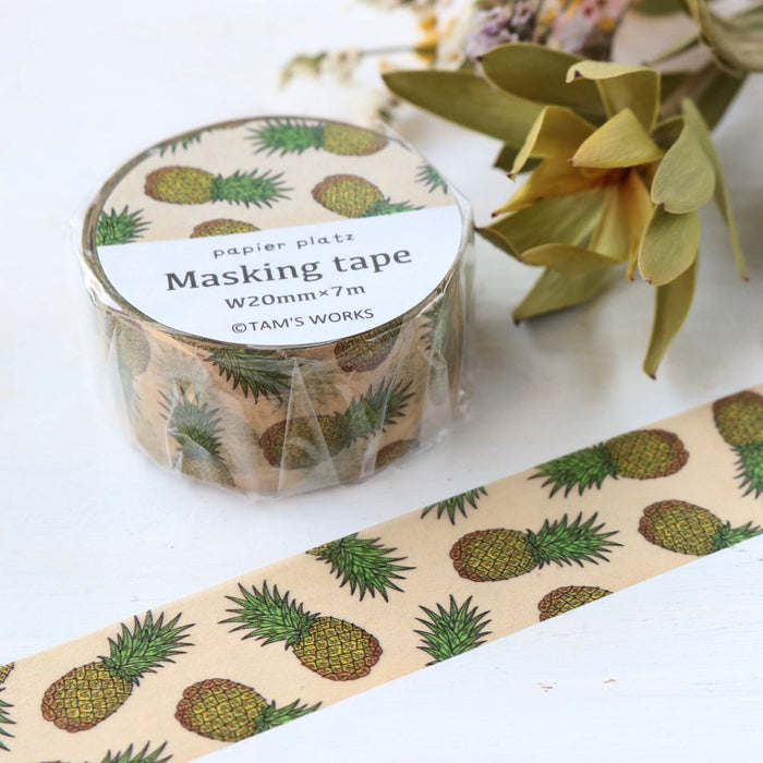 Washi Tape - Pineapple