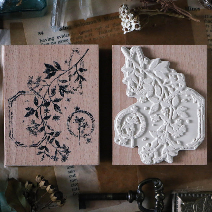 Flower Large Stamp B