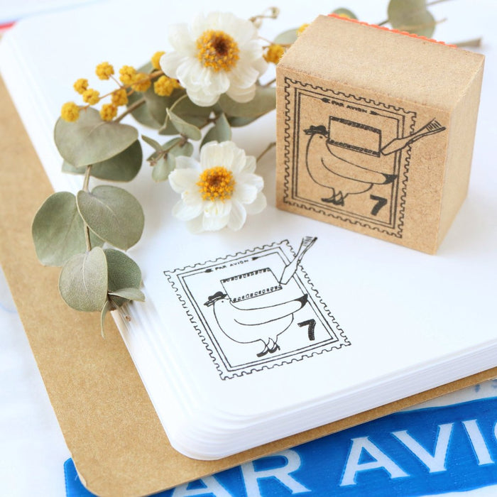 Rubber Stamp - Postage Stamp