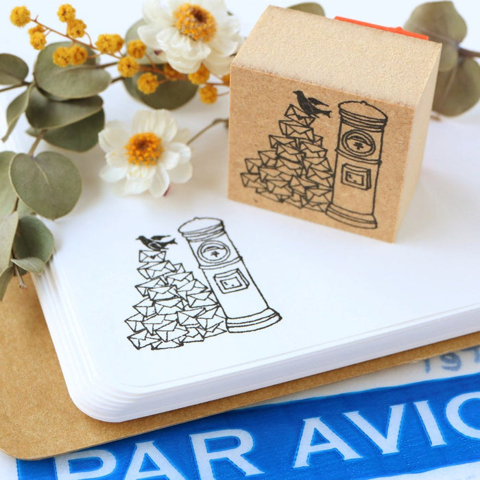Megumi Hori Rubber Stamp - You Got Mail
