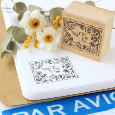 Megumi Hori Rubber Stamp - Send More Mail