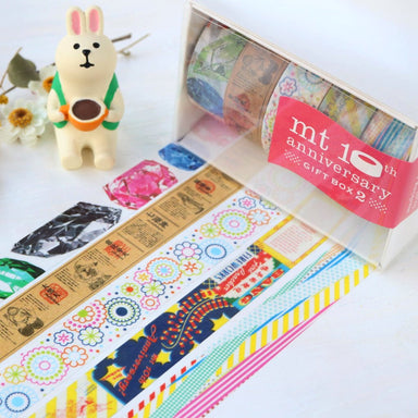 10th Anniversary Limited Edition mt Washi Tape - Vol. 2