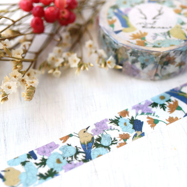 MiriKulo:rer Washi Tape - Birds and Flowers 023